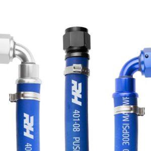 -04 401 Series Blue Push Lock Hose – 10 feet