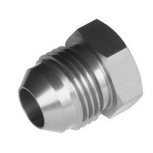-03 AN/JIC Aluminum Flare Plug – Clear