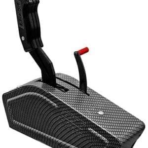 B&M Magnum Grip Stealth Pro Ratchet 3 & 4-Speed Shifter GM/Ford/Chrysler
