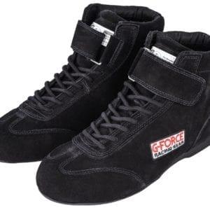 G-FORCE GF235 RaceGrip Mid-Top Racing Shoes Black