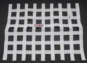 G-FORCE Ribbon Window Net White