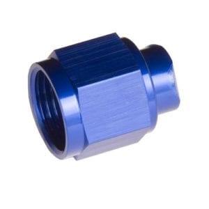 -03 two piece AN/JIC flare cap nut – blue