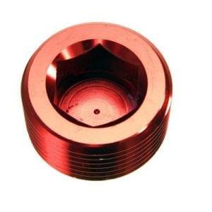 -06 (3/8″) NPT hex head pipe plug – red – 2/pkg