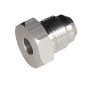 -08 male AN/JIC weld flange adapter (unanodized)