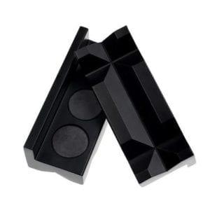 4″ Black Aluminum Vise Jaws